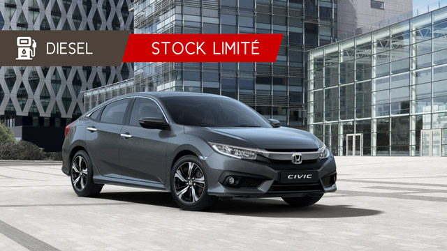 Honda Civic 4 portes Executive Diesel